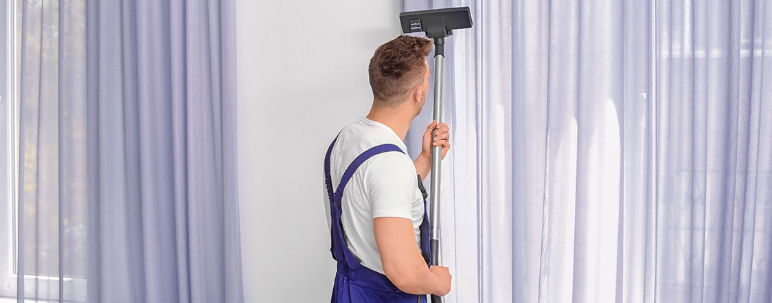 Curtain Cleaning Services in Abu Dhabi - Maids On Demand